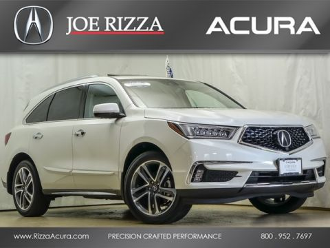 Certified Used Acura MDX SH-AWD with Advance Package