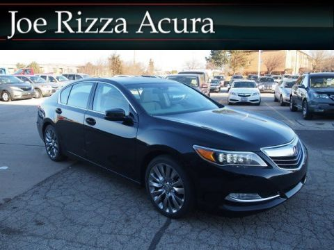 New 2017 Acura RLX with Technology Package with Navigation