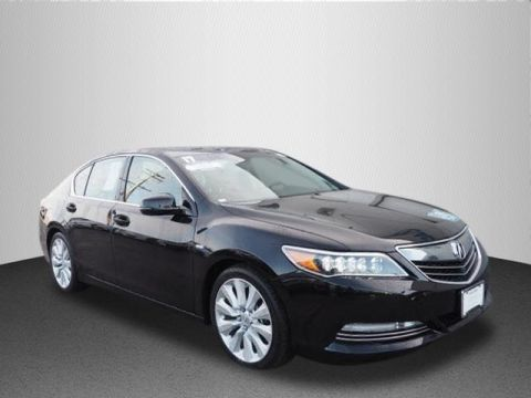 Certified Used Acura RLX Sport Hybrid Sport Hybrid SH-AWD with Advance Package