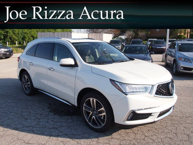 New 2017 Acura Mdx With Advance Package Sport Utility In