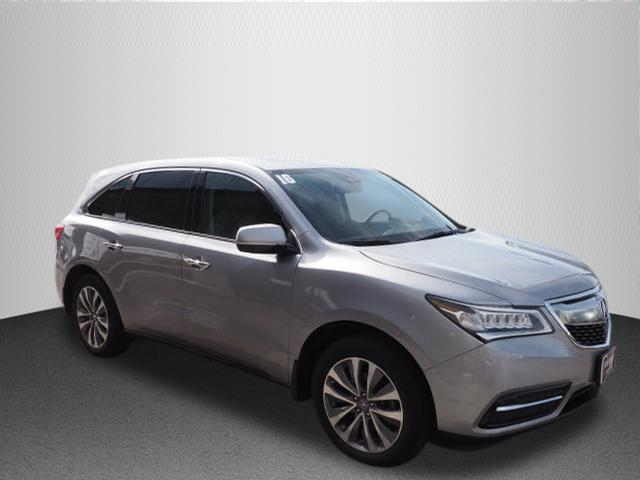 Pre Owned 2016 Acura Mdx Sh Awd With Technology And Acurawatch Plus Packages
