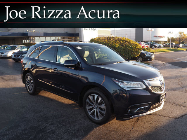 Pre Owned 2016 Acura Mdx Sh Awd With Technology Package