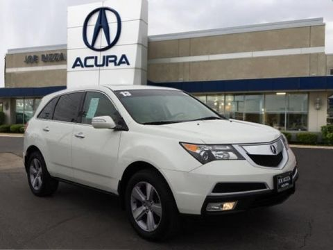 Pre-Owned 2013 Acura MDX 3.7L SH-AWD