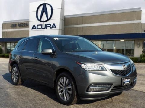 Pre-Owned 2014 Acura MDX 3.5L Technology Package SH-AWD
