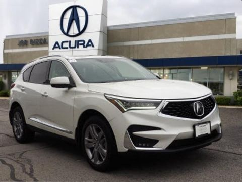 Certified Pre-Owned 2020 Acura RDX SH-AWD with Advance Package