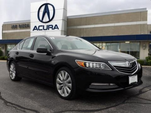 Certified Pre-Owned 2017 Acura RLX Sport Hybrid SH-AWD with Technology Package